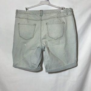 Lane Bryant Shorts - Womens Stressed Shorts